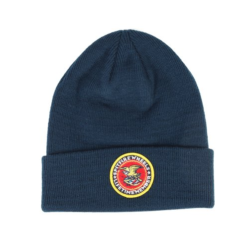 Spitfire Members Patch Cuff Beanie Navy