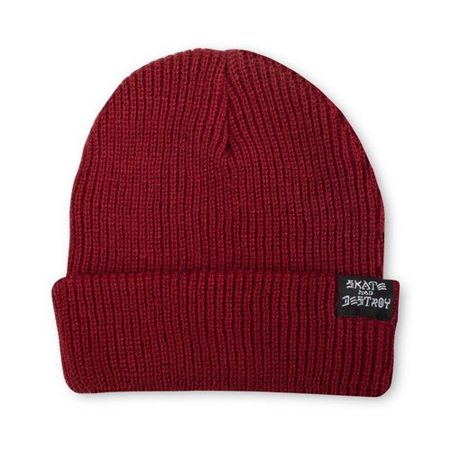 Thrasher Skate And Destroy Beanie Maroon