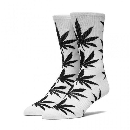 HUF Plantlife Lite Crew Socks White / Black