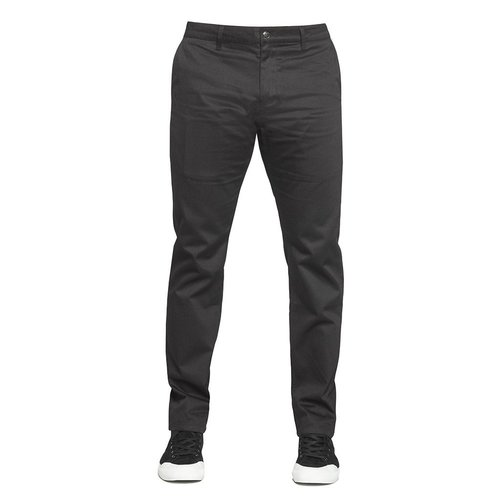Huf Fulton Slim Fit Chino Pant Black