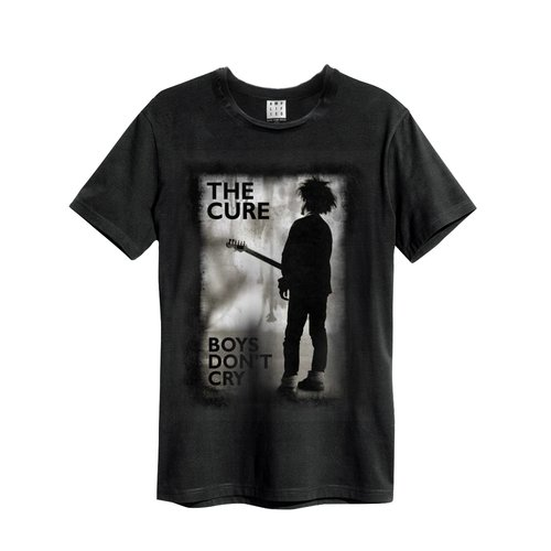 Amplified The Cure Boys Dont Cry T-Shirt Black