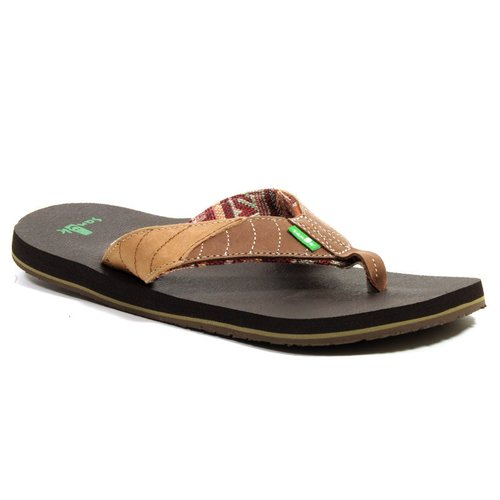 Sanuk Sidewalk Surfer Pave the Wave Tan