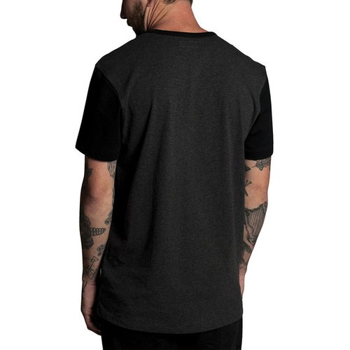 Krew Haze 3/4 T-Shirt Charcoal