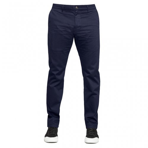 Huf Fulton Slim Fit Chino Pant Navy