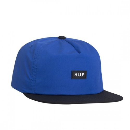HUF Bar Logo Snapback Royal