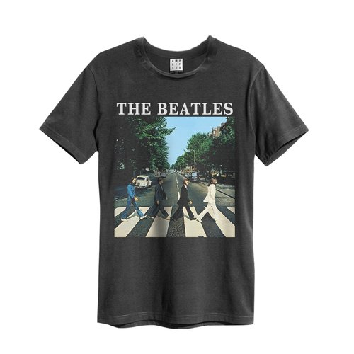 Amplified The Beatles Abbey Road T-Shirt Charcoal