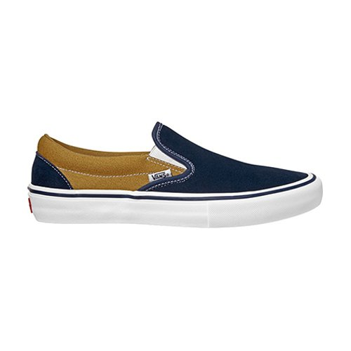 Vans Classic Slip On Pro Dress Blues / Medal Bronze