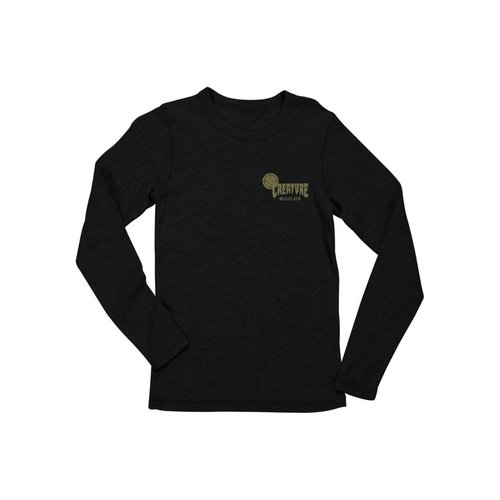 Creature Fish and Game Thermal Longsleeve Black