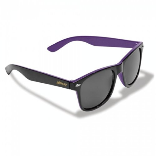 Glassy Halfy Sunhaters Sonnenbrille Black/Purple