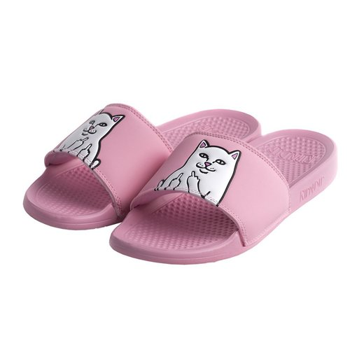 Ripndip Lord Nermal Slides Pink