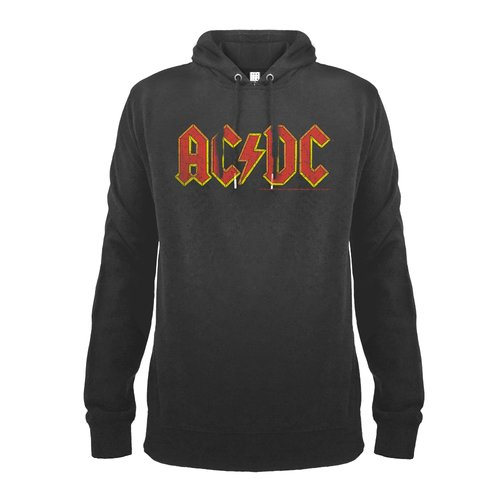Amplified ACDC Logo Charcoal Hoodie