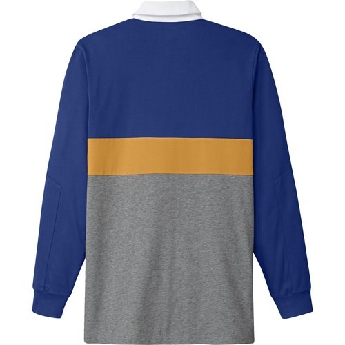 Adidas Heritage Polo Longsleeve Royal Core Heather