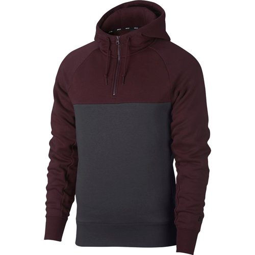 Nike SB Icon Hoodie 1/2 Zip Burgundy Crush/Anthrazit/Burgundy Crush