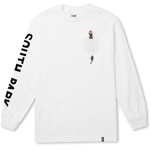 HUF South Park Mr. Hanky Longsleeve White