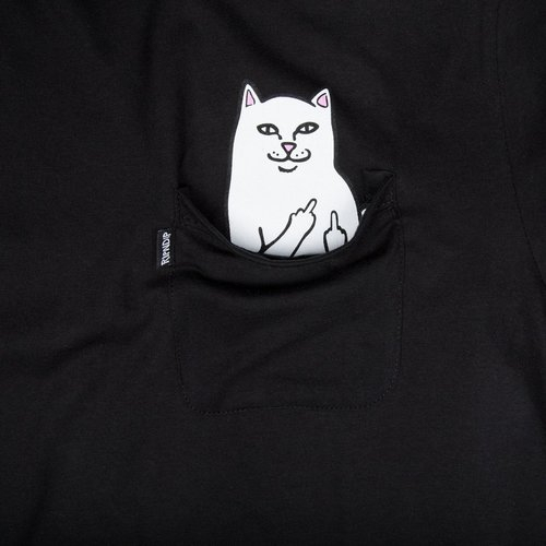 Ripndip Lord Nermal Pocket T-Shirt Black