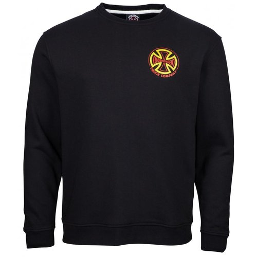 Independent Two Tone Crewneck Black