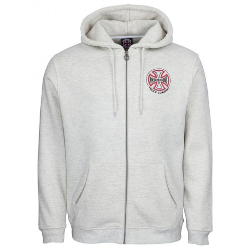 Independent Two Tone Zip Hoodie Athletic Heather