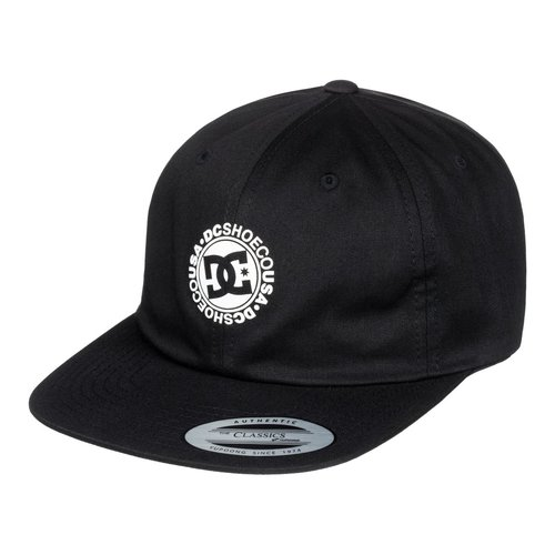 DC Couch Tender Strapback Cap Black