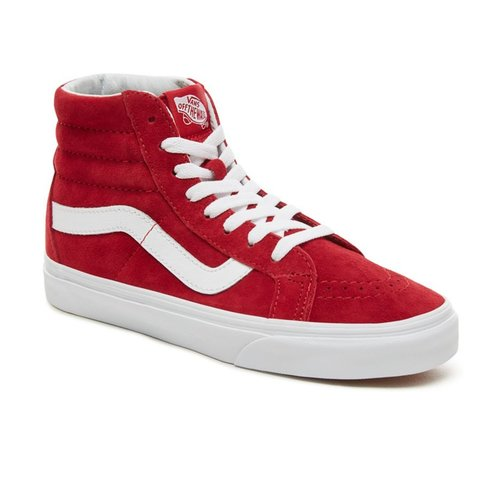 Vans Sk8 Hi Reissue (Pig Suede) Scooter / True White