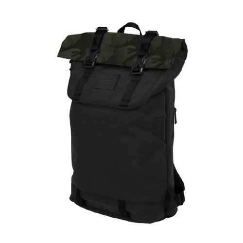 Doughnut Rucksack Christopher Nylon Black/Army