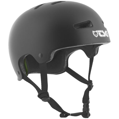 TSG Evolution Solid Helm L/XL Satin Black
