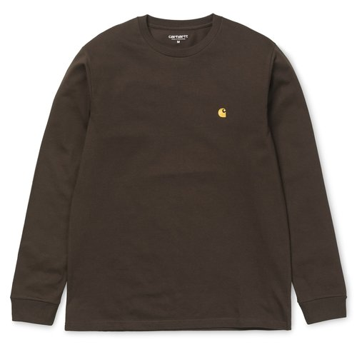 Carhartt Wip Chase Longsleeve Tobacoo/Gold M