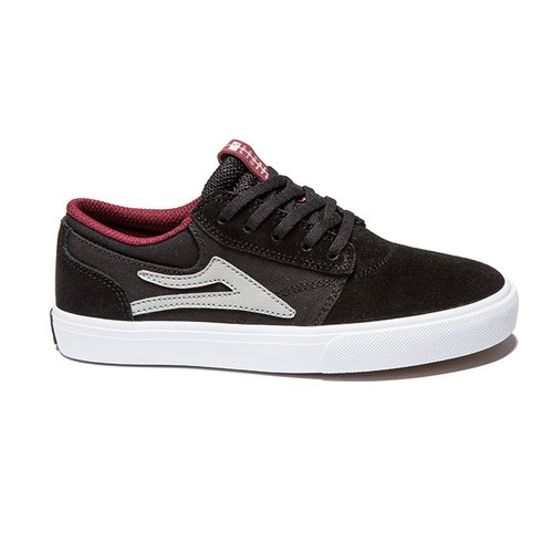 Lakai Griffin Kids Black Suede