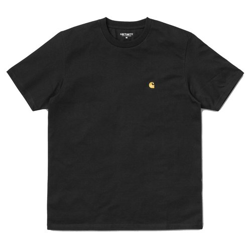 Carhartt Wip Chase T-Shirt Black/Gold