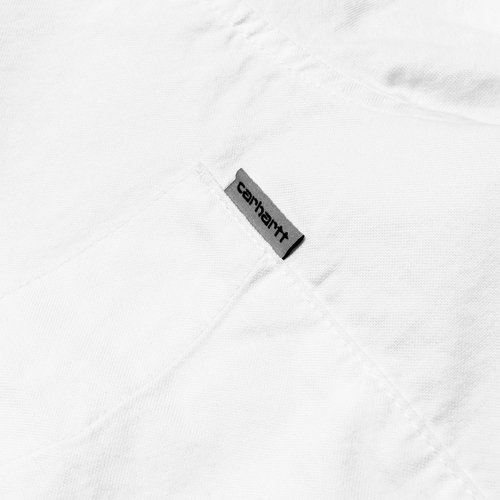 Carhartt Wip Buton Down Pocket L/S Shirt White