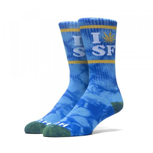 HUF Legalize SF Socken Royal/Gold