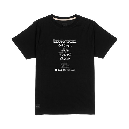 Wemoto Yeah Right T-Shirt Black