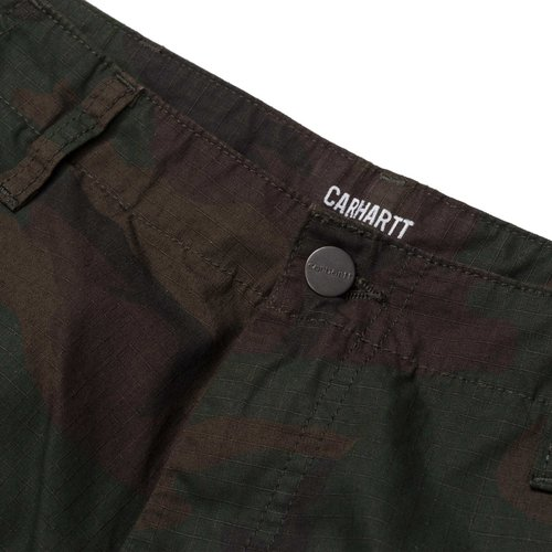 Carhartt Wip Regular Cargo Pant Camo Evergreen Rinsed