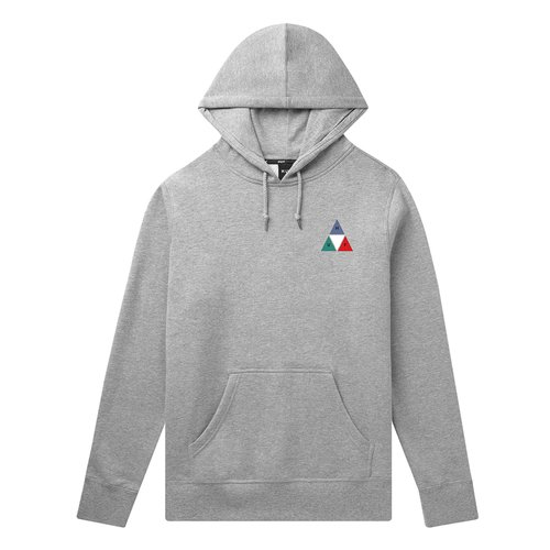 HUF Prism Triple Triangle Hoodie Grey Heather