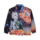Ripndip Galactica Coaches Jacket Black