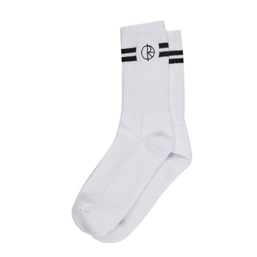 Polar Stroke Logo Socks White 39-42