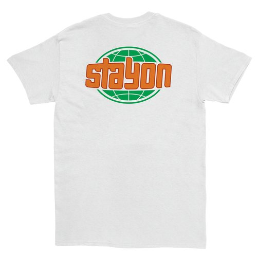 Stay On Global T-Shirt White