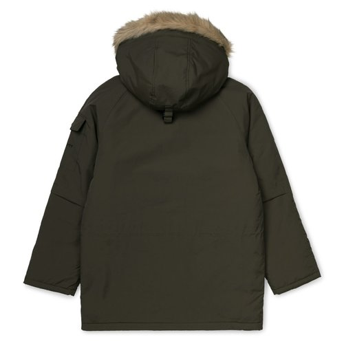 Carhartt Wip Anchorage Parka Cypress Black