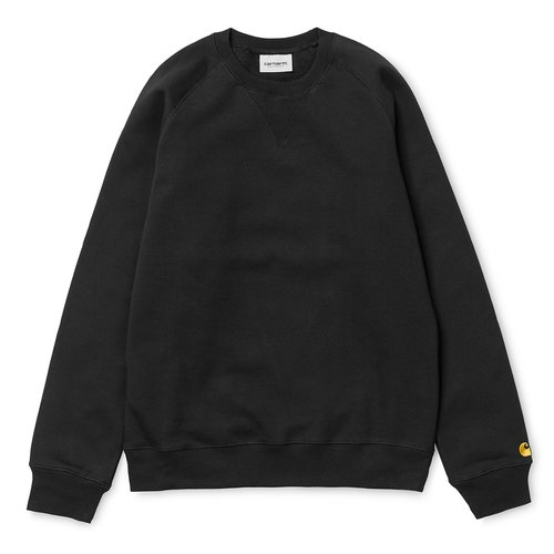 Carhartt Wip Chase Crewneck Black/Gold