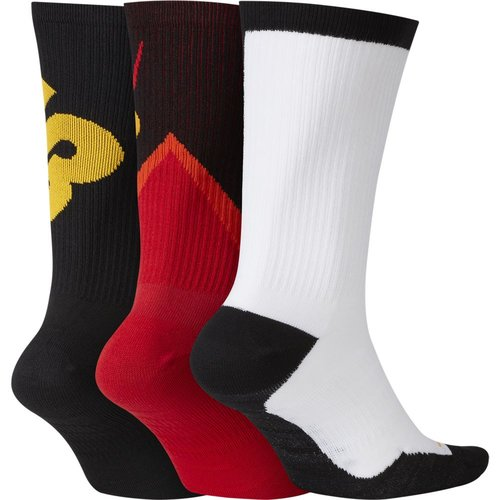Nike SB Lightweight Crew Skateboarding Socks (3er Pack) Multi