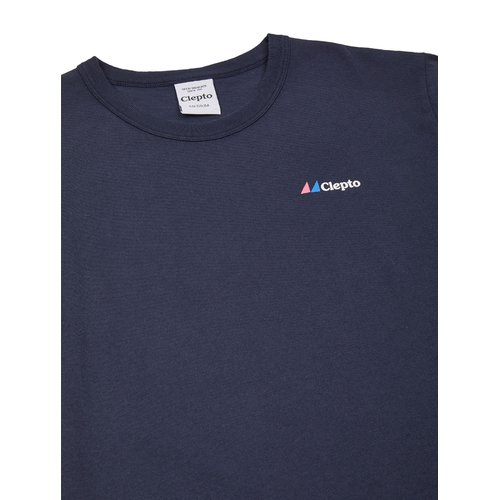 Cleptomanicx Basic Signal T-Shirt Dark Navy