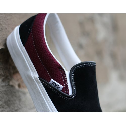Vans Classic Slip On P&C Black/Port Royal