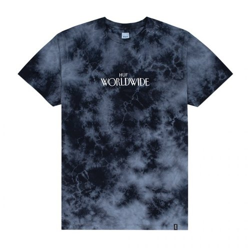 HUF Archive T-Shirt Black Crystal Wash