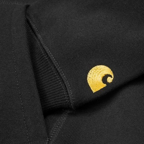 Carhartt Wip Chase Hooded Black