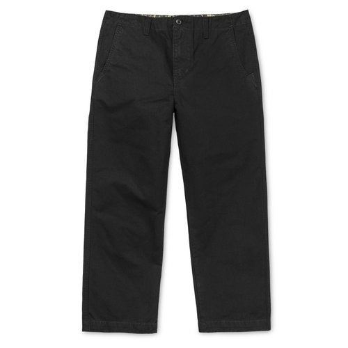 Carhartt Wip Dallas Pant Black Stone washed