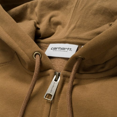 Carhartt Wip Chase Zip Hooded Hamilton Brown/Gold