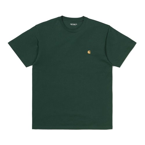 Carhartt Wip Chase T-Shirt Threehouse/Gold