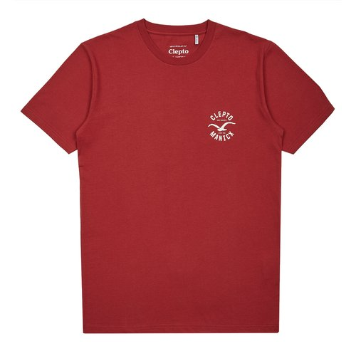 Cleptomanicx Games T-Shirt Rosewood