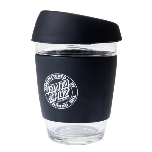 Santa Cruz Dot Coffee Cup Black
