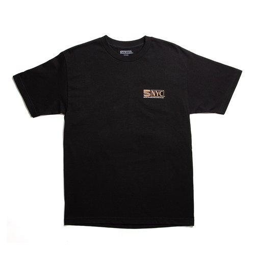 5BORO VHS T-Shirt Black