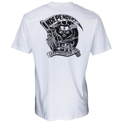 Independent G.F.L Reaper T-Shirt White